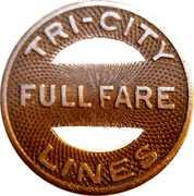 Full Fare - Iowa-Illinois Gas and Electric Company(Rock Island, Illinois) – reverse