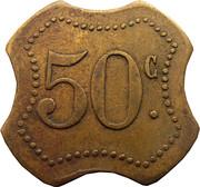 50 Centimes Ligue (Saint-nazaire[44]) – reverse