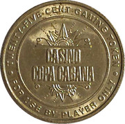 25 Cent Gaming Token - Casino Copa Cabana (Hyatt Regency Aruba) – obverse