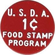 1 Cent - Food Stamp (JAHR's) – reverse