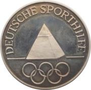 Token - Deutsche Sporthilfe (Josef Neckermann) – reverse