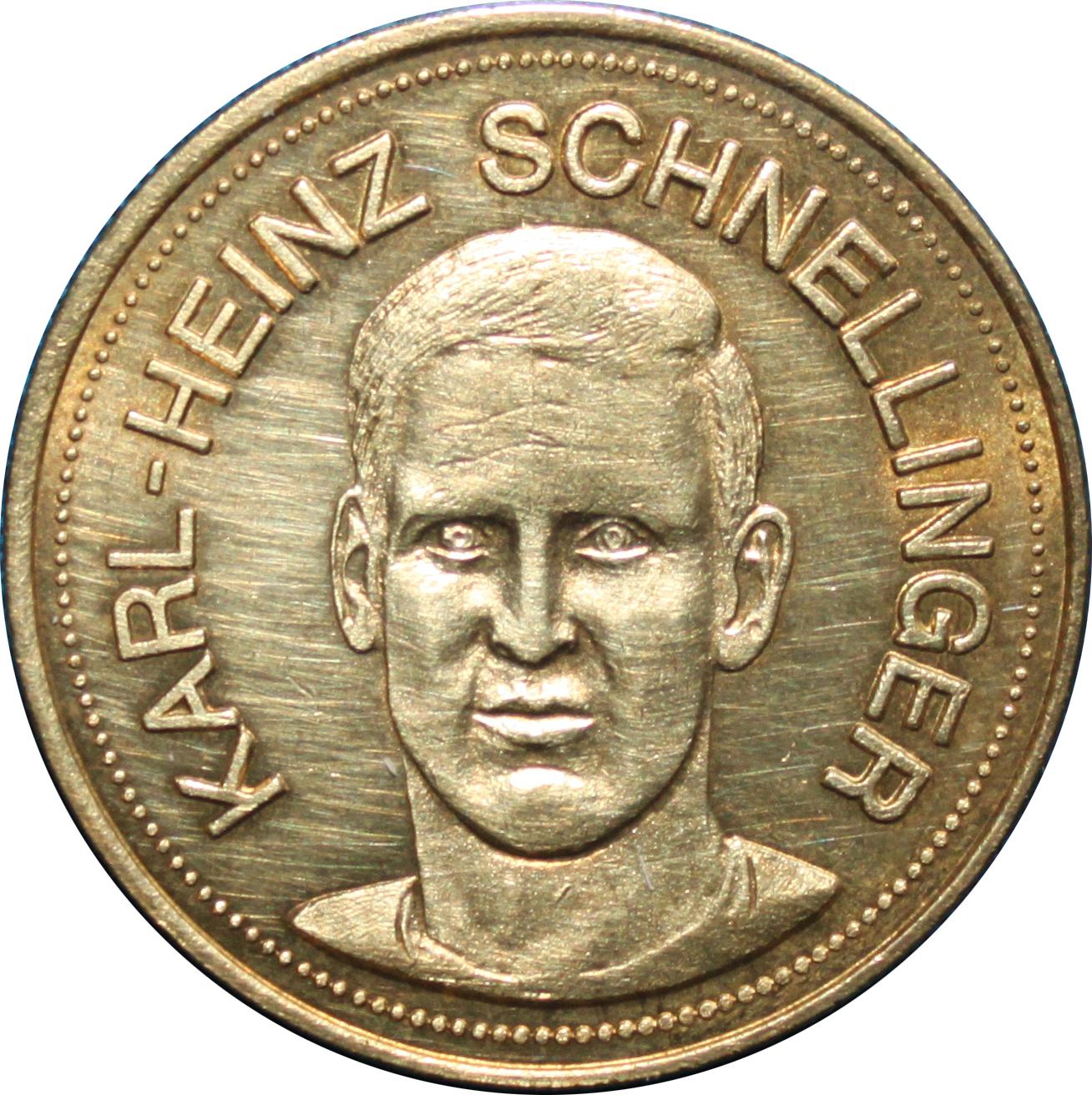 Shell Traum Elf Karl Heinz Schnellinger Tokens – Numista