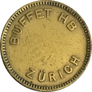 Biermarke - Buffet HB (Zürich) – obverse