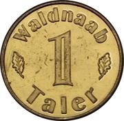 1 Waldnaab Taler – reverse