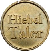 Hiebel Taler - Marien Apotheke (Ebersberg) – reverse