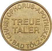Treue Taler - Helios Apotheke & Christophorus-Apotheke (Wolfratshausen, Bad Tölz) – reverse