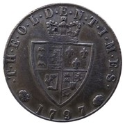 Spade Guinea Gaming Token - George III (The Olden Times) – reverse