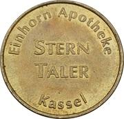 Stern Taler - Einhorn Apotheke (Kassel) – reverse