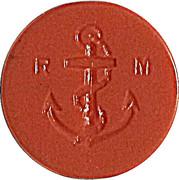 Token - R M (anchor) – reverse