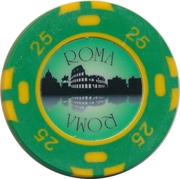 Casino Token -  Roma (25) – obverse