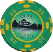Casino Token -  Roma (25) – reverse