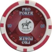 Casino Token - Pro Poker (5) – reverse