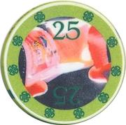 Casino Token - 25 – reverse