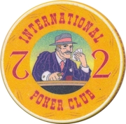 Casino Token - International Poker Club (2) – reverse