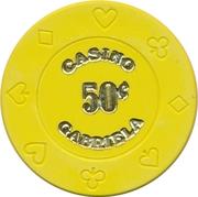Casino Token - Gabriela (50 Cents) – obverse