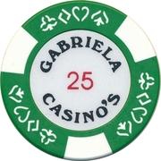 Casino Token - Gabriela (25) – obverse