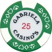 Casino Token - Gabriela (25) – reverse