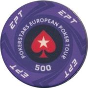 Casino Token - Pokerstars European Poker Tour (500) – obverse