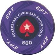 Casino Token - Pokerstars European Poker Tour (500) – reverse