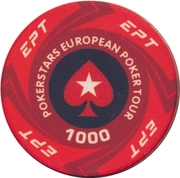 Casino Token - Pokerstars European Poker Tour (1000) – obverse