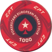 Casino Token - Pokerstars European Poker Tour (1000) – reverse