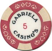 Casino Token - Gabriela (5) – reverse
