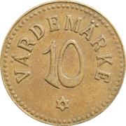 10 Öre - Liseberg Värdemärke  – reverse