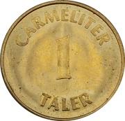 1 Carmeliter Taler - Carmeliter Apotheke (Worms) – reverse