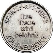 Kranich Taler - Kranich Apotheke (Köln-Neubrück) – obverse