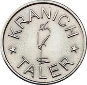 Kranich Taler - Kranich Apotheke (Köln-Neubrück) – reverse