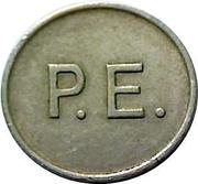 Token - P.E. (Phonographic Equipment) – reverse