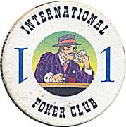 Casino Token - International Poker Club (1) – reverse