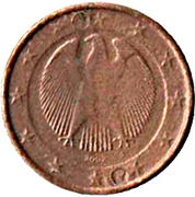 1 Euro (Play Money) – obverse