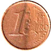 1 Euro (Play Money) – reverse