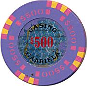 Casino Token - Gabriela (500) – obverse