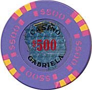 Casino Token - Gabriela (500) – reverse