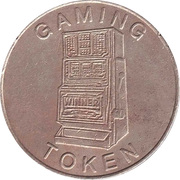 Gaming Token - Seulement pour Amuzement (three cherries) – reverse