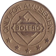 Game Token - Bolero (by Cirsa) – obverse