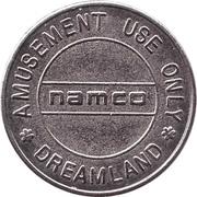 Game Token - Namco Dreamland – obverse