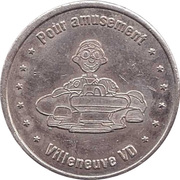 Game Token - Fun Planet (Villeneuve VD) – obverse