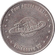 Game Token - Fun Planet (Villeneuve VD) – reverse