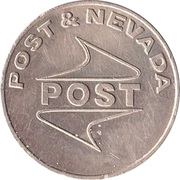 Game Token - Post & Nevada – obverse