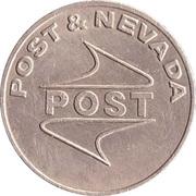 Game Token - Post & Nevada – reverse