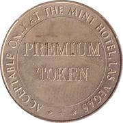 Premium Token - The Mint Hotel (Las Vegas, Nevada) – reverse