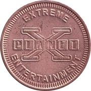 Game Token - Planet X Extreme Entertainment – obverse
