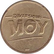 Token - Diversiones Moy – obverse