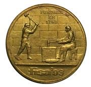 Token - Casa de Moneda de Chile (FISA 93) – reverse