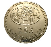 Token - 253rd Anniversary of Сasa de Moneda de Chile – obverse