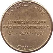 Token - American Locker Security System – reverse