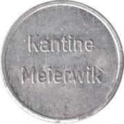 Token - Kantine Meierwik (Gerhard Höppner) – reverse